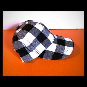 Accessories - Flannel women's Gingham baseball cap
